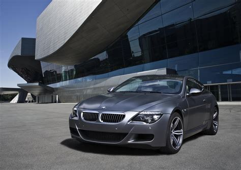 Frankfurt Auto Show The New Bmw M6 Competition Limited