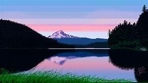 Wavestormed, Nature, Landscape, Pixel, Art, Pixelated