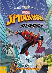 Spider-man Beginnings Personalized Marvel Story Book ...  Spiderman