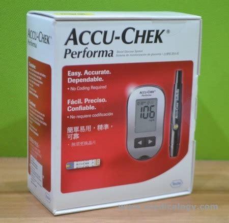 Accu Check Alat Monitor Gula Darah accu chek performa alat cek gula darah