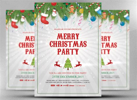 30+ Christmas Invitation Templates Decorate With Christmas Lights Decorations For Double Front Doors Outdoor Decorating Swimming Pool Homemade Children Low Price Decoration Canada Car Kit