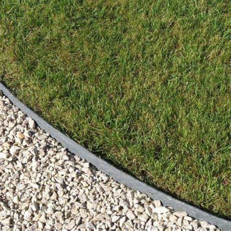 landscape edging 25m ecoedge plastic lawn edging h14cm on sale fast delivery greenfingers com