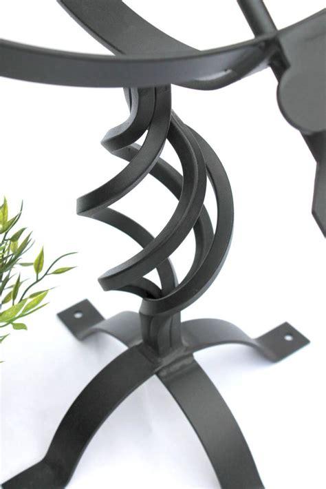 Gartendekoration Metall by Sonnenuhr Schwarz Aus Metall Schmiedeeisen Wetterfest 72cm