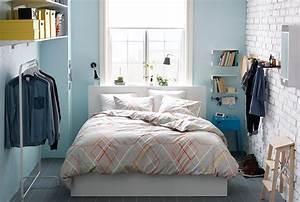 petite chambre a coucher avec lit double mannequin With chambre à coucher adulte moderne avec matelas pour problème de dos