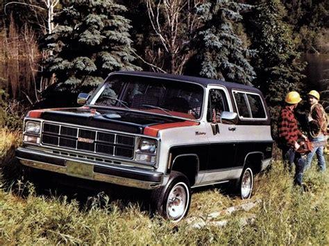 1980 Gmc Jimmy K1500 Sierra Classic Suv Stationwagon F