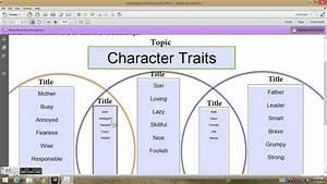 Character Traits Activity 1