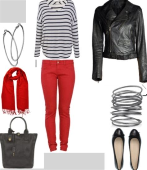 Black and red casual outfit | Fashion | Pinterest