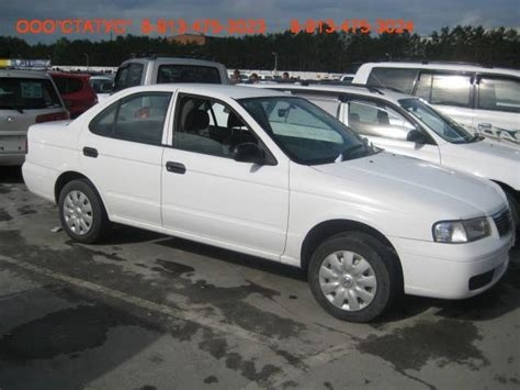 nissan sunny 2002 2002 nissan sunny pictures 1 5l gasoline ff automatic