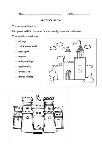 stone  castles  amanda teaching resources