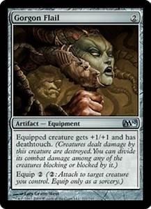 Target Market Gorgon Flail Artifact Cards Mtg Salvation