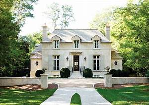 French Chateau - French - home exterior - Atlanta Homes