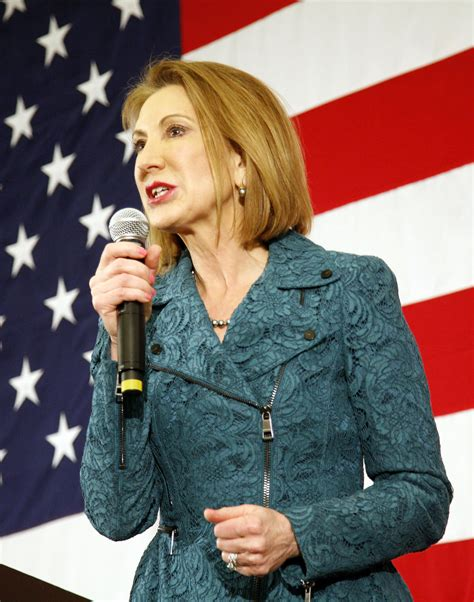 fiorinas speaking style helps  stand