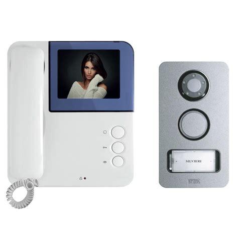 kit videocitofono urmet simply mikra monitor colori 2 fili monofamiliare area illumina