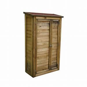 Armoire De Jardin Bois : armoire rangement bois ~ Teatrodelosmanantiales.com Idées de Décoration