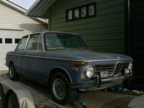 Purchase Used 1972 Bmw 2002 Tii Complete Car For