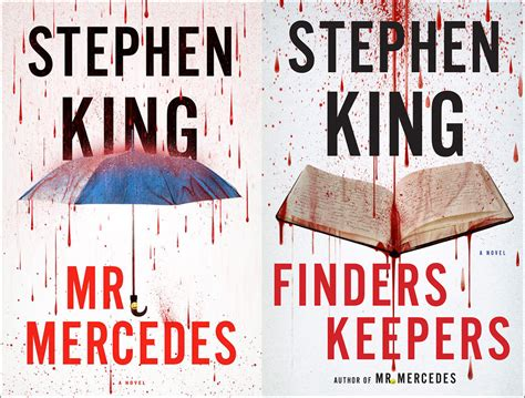 Mercedes is a compelling love letter to crime fiction with a great villain but lacks some of the pizzazz of the first was mr. Lilja's Library - The World of Stephen King 1996 - 2018