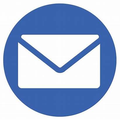 Email Round Envelope Icons Ikc