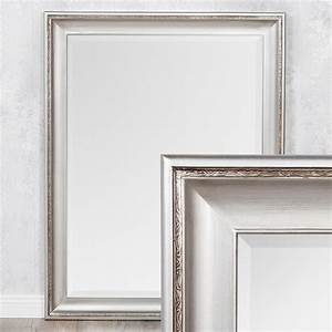 Spiegel Silber Barock : spiegel copia 70x50cm silber antik wandspiegel barock 3560 ~ Frokenaadalensverden.com Haus und Dekorationen