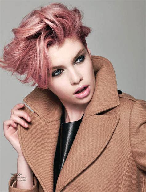 pastell rosa haarfarbe 1001 ideen f 252 r rosa haare die besten bilder aus dem