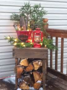 Primitive Country Christmas Porch