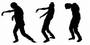 Zombie Silhouette Clipart - Clipart Suggest