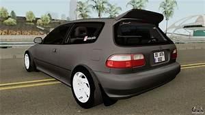 Honda Civic Eg6  Ac Works  For Gta San Andreas
