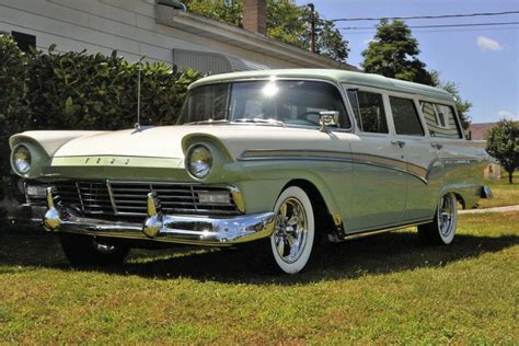 ford usa 1959 country sedan 4door station wagon the 1957 ford country sedan station wagon 113075