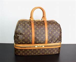 Louis Vuitton Weekender : vintage louis vuitton monogram sac sport travel bag large duffle weekender bottom compartment ~ Watch28wear.com Haus und Dekorationen