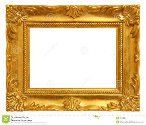 cadre de tableau d or images stock image 2280284