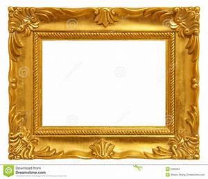 Cadre De Tableau : cadre de tableau d 39 or photo stock image du classique ~ Dode.kayakingforconservation.com Idées de Décoration