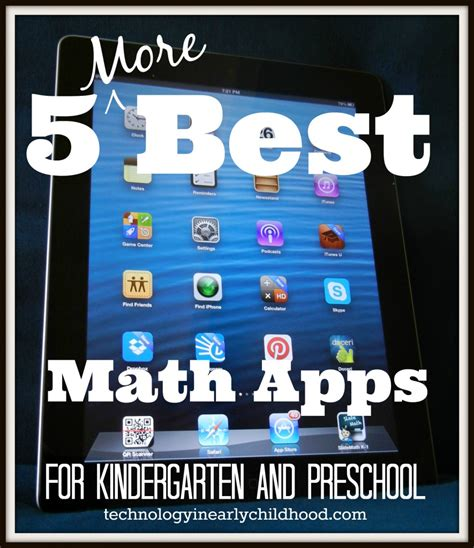 five more best math apps for kindergarten and preschool 914 | 5 More Best Math Apps for Preschool and Kindergarten 885x1024