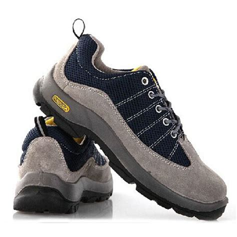 fashion steel toe cap safety shoes
