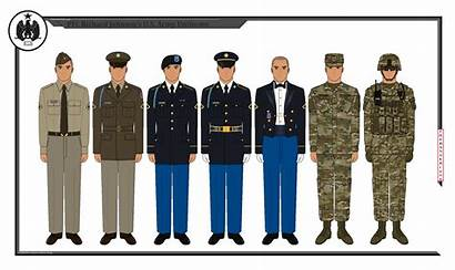 Uniforms Army Master Sgt Richard Deviantart Pfc