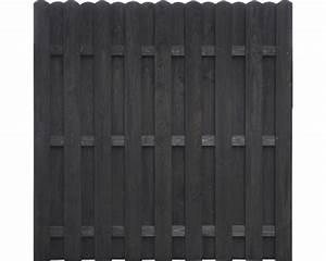 Sichtschutzzaun Holz 180x180 : bohlenzaun dieter 180 x 180 cm grau bei hornbach kaufen ~ Frokenaadalensverden.com Haus und Dekorationen