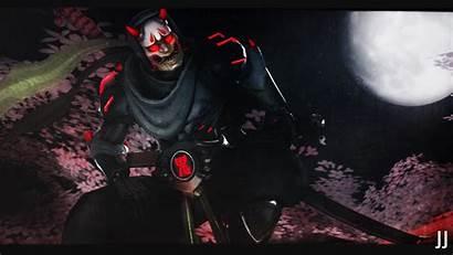 Oni Genji Mask Sfm Wallpapers Widescreen Samurai