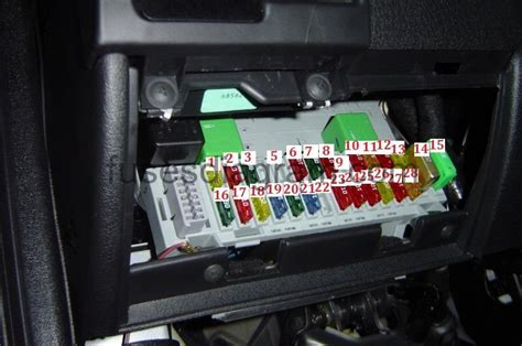 fuse box diagram opelvauxhall corsa