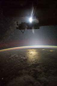 Sun From International Space Station