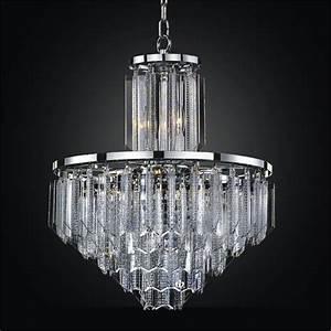 Lucite pendant chandelier glow? lighting