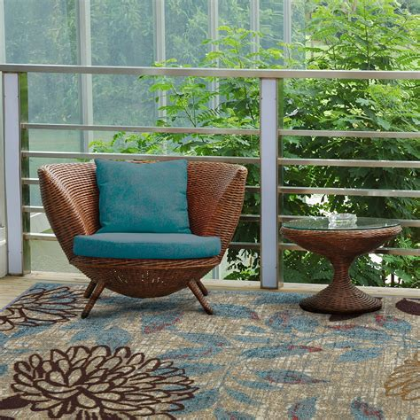 outdoor patio rugs mohawk home avenue stripe indoor outdoor rug multi