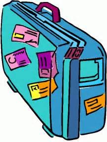 Luggage Travel Suitcase Clip Art