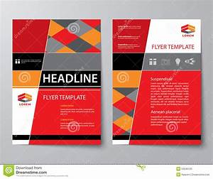 Set Of Business Magazine Cover , Flyer, Brochure Flat ...