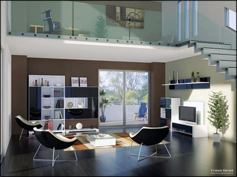 Wohnzimmer Loft Style by Unique Mood Enhancing Living Rooms