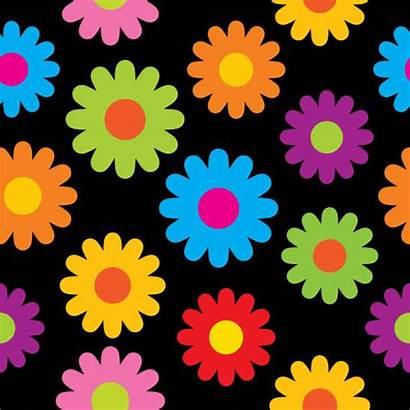Hippie Flowers Colorful Pattern Flower Daisy Hippy