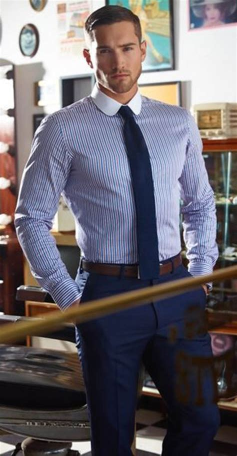 A Little About anatomy proportion and Trim Men Outfit ...