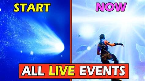 event  fortnite history meteor  butterfly