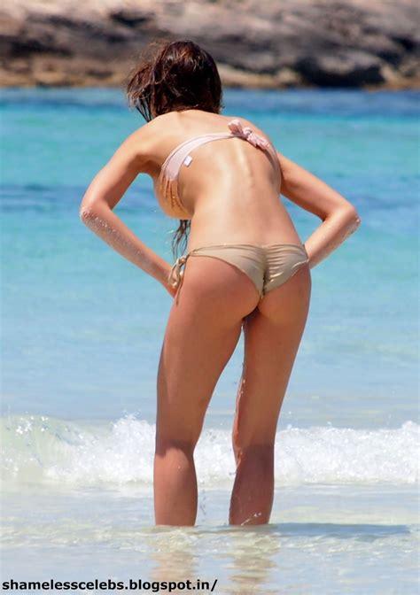 Alessia Tedeschi Beach Bikini Candids Celebrities Nude