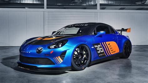 this is a gt4 spec alpine a110 top gear