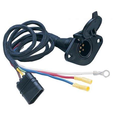 Auto Trailer Wiring Kit by Hoppy 47155 Trailer Wiring Connector Kit 6 Wire