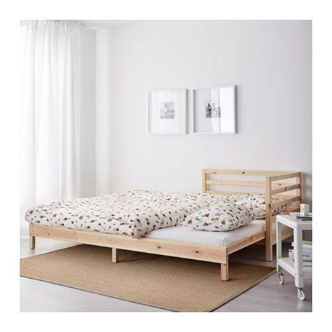 chaise 65 cm ikea tarva day bed with 2 mattresses pine moshult firm 80x200