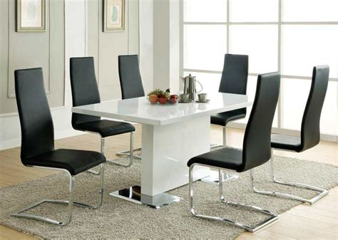 modern white table l modern dining table white co310 modern dining